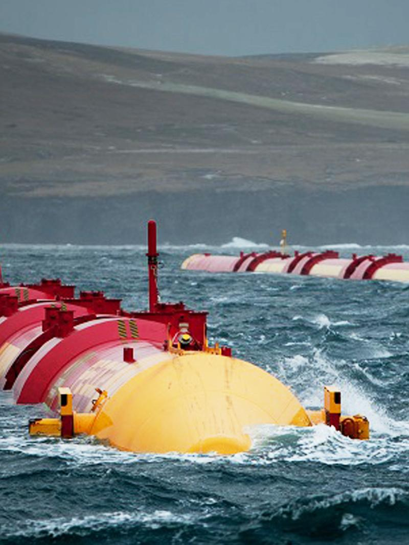 [Translate to Suomi:] Wave Power
