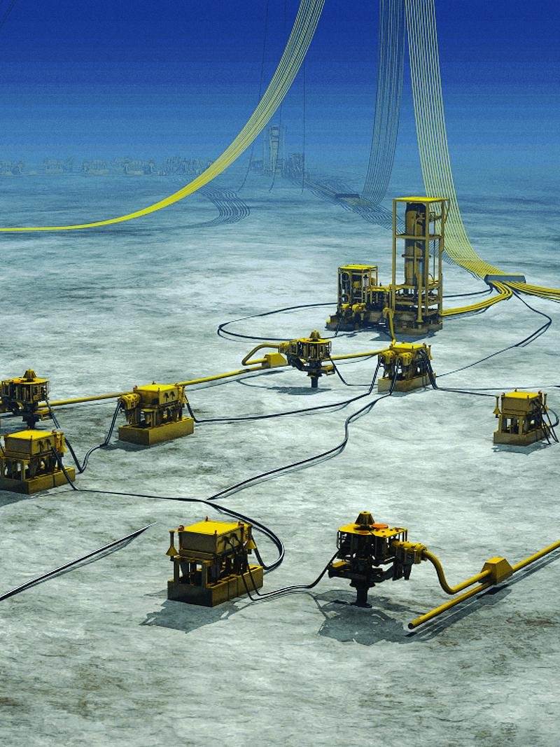 [Translate to Norsk:] Subsea Flowline and Jumper Systems