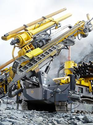 [Translate to Svenska:] Mining and drilling equipment