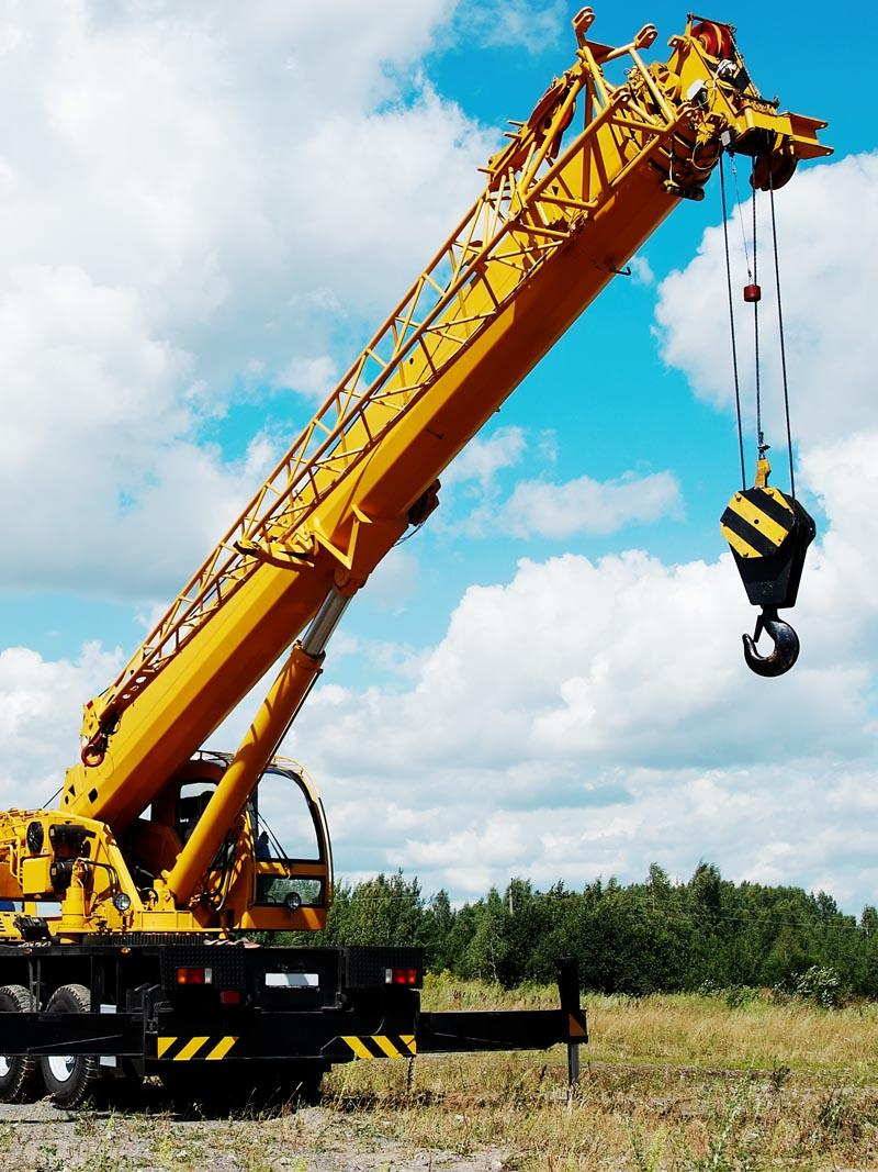 [Translate to Suomi:] Mobile Crane